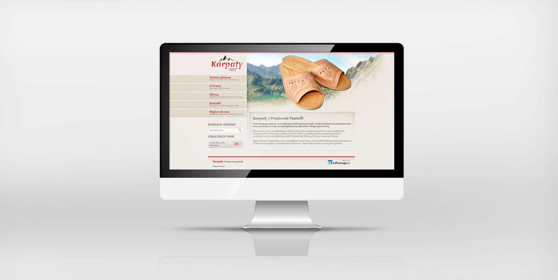 Pantofle Karpaty / <span>Producent pantofli regionalnych</span>