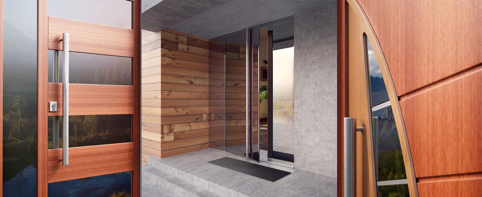 Parmax Drzwi Zewnętrzne / <span>Wizualizacje 3D</span>