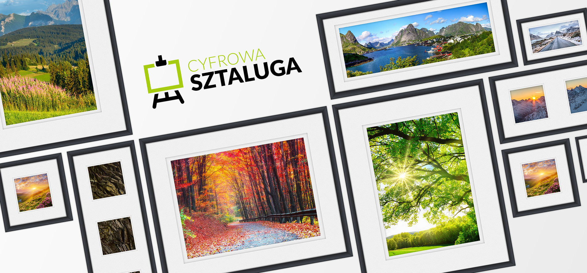 Cyfrowa Sztaluga / <span>Obrazy na płótnie</span>