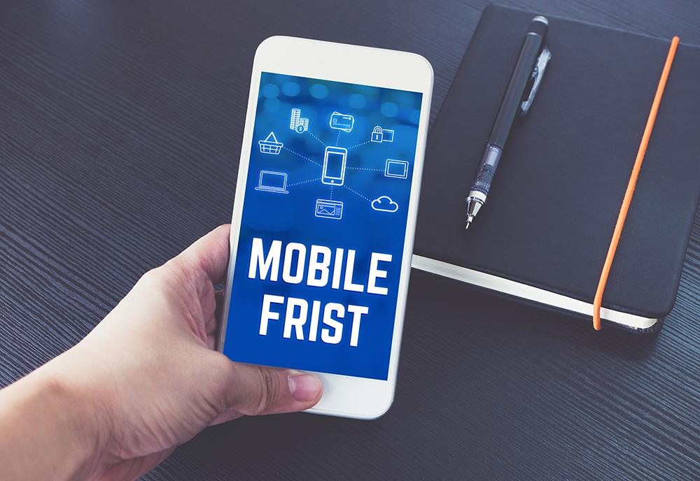 mobile first strona internetowa