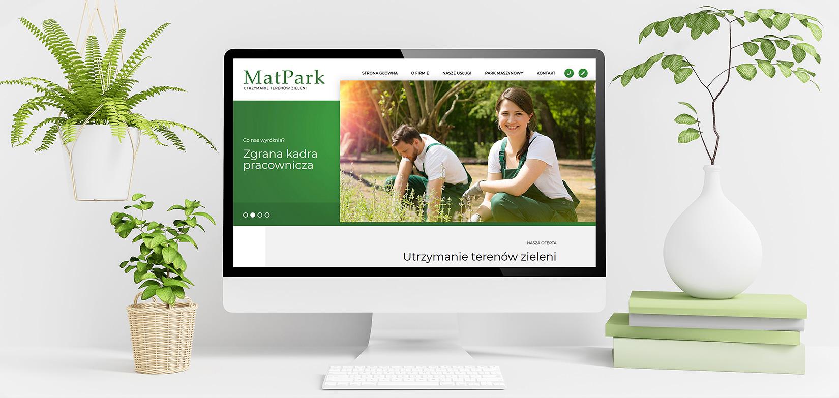 MatPark / <span>Utrzymanie terenów zielenii</span>